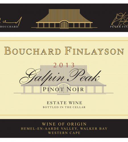 Bouchard Finlayson Galpin Peak Pinot Noir 2013
