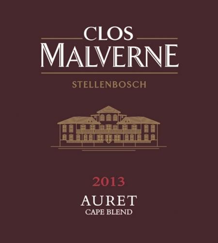 Clos Malverne Auret Cape Blend 2013