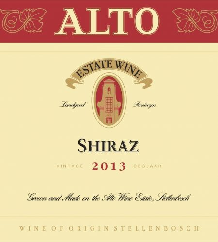 Alto Shiraz 2013