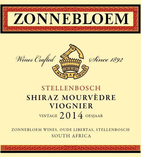 Zonnebloem Shiraz Mourvedre Viognier 2014