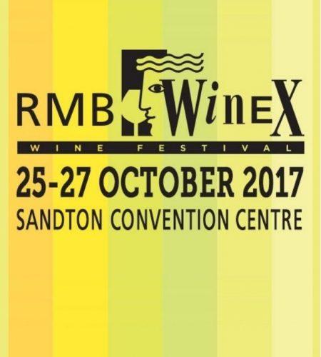 October 25 - 27 : WineX, Johannesburg